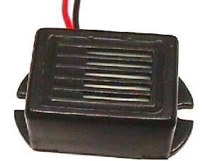 ZUMBADOR ELECTRONICO CON CABLE, 85DB, 3V - 30mA