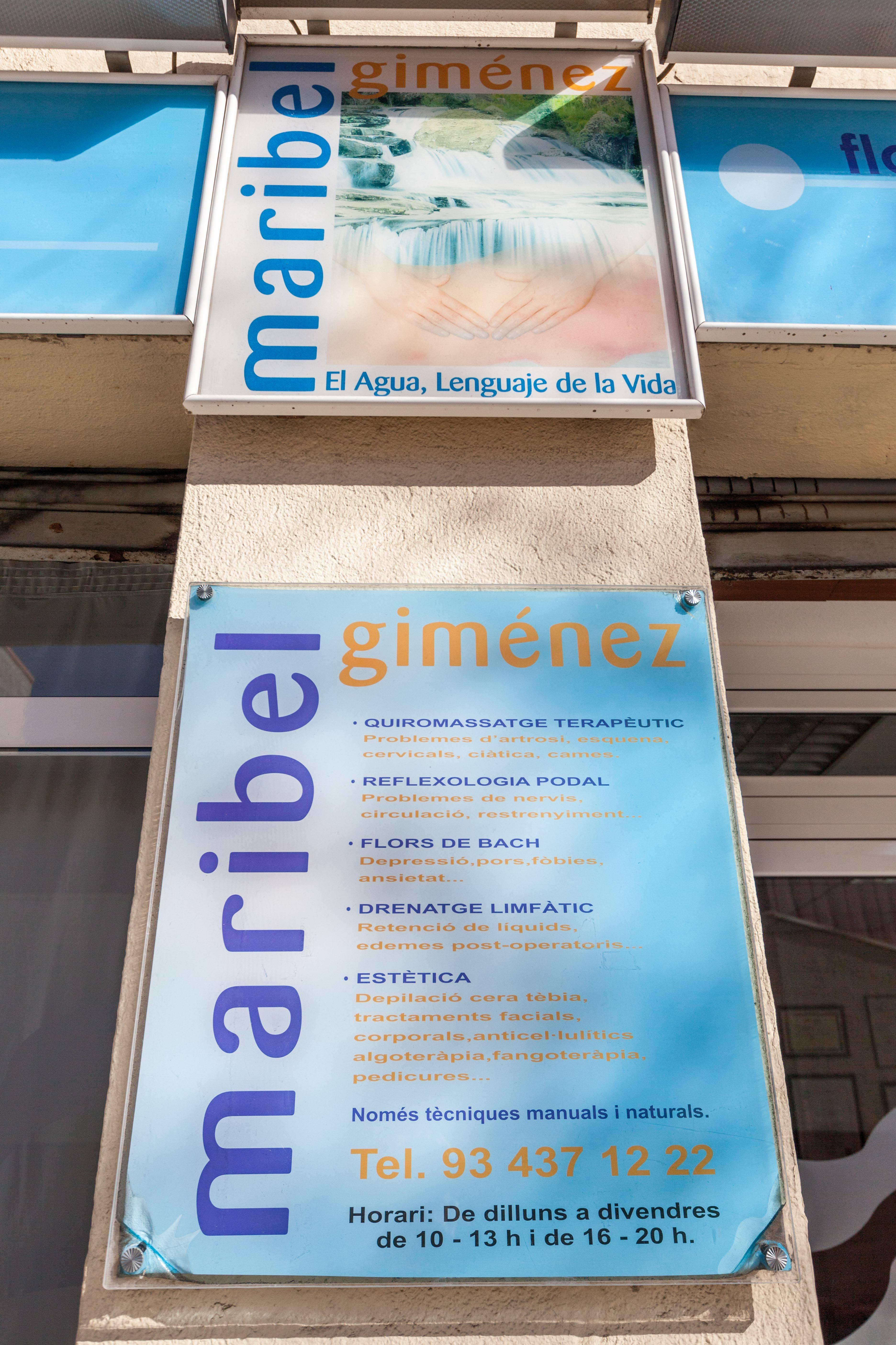 Foto 2 de Quiromasajes en Hospitalet de Llobregat | Quiromasaje y  Estética Maribel Giménez
