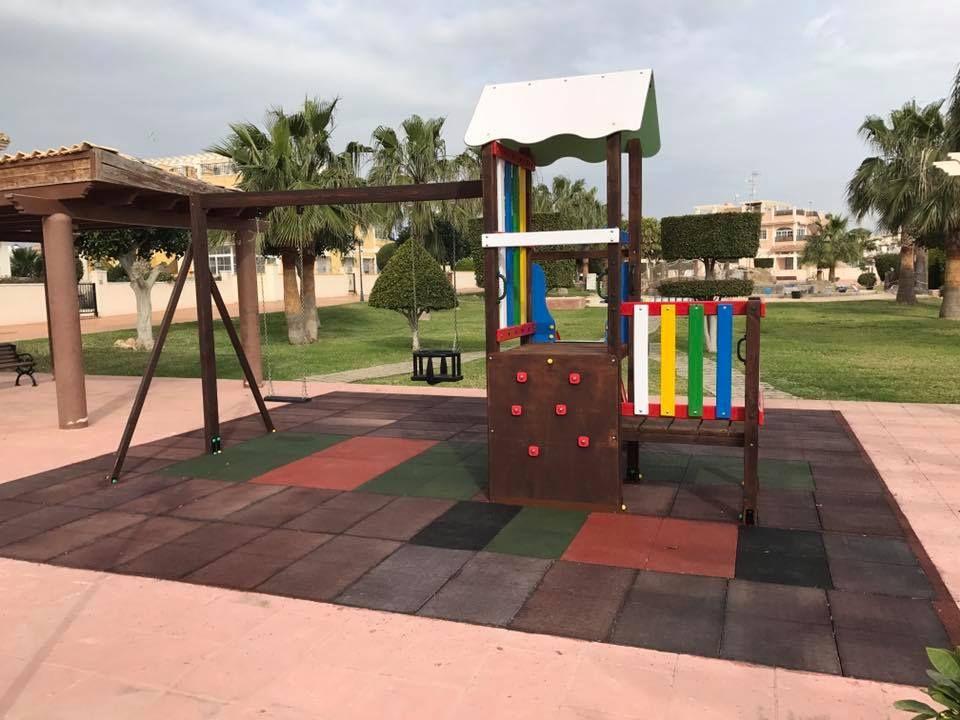 Equipamiento para parques infantiles en Murcias