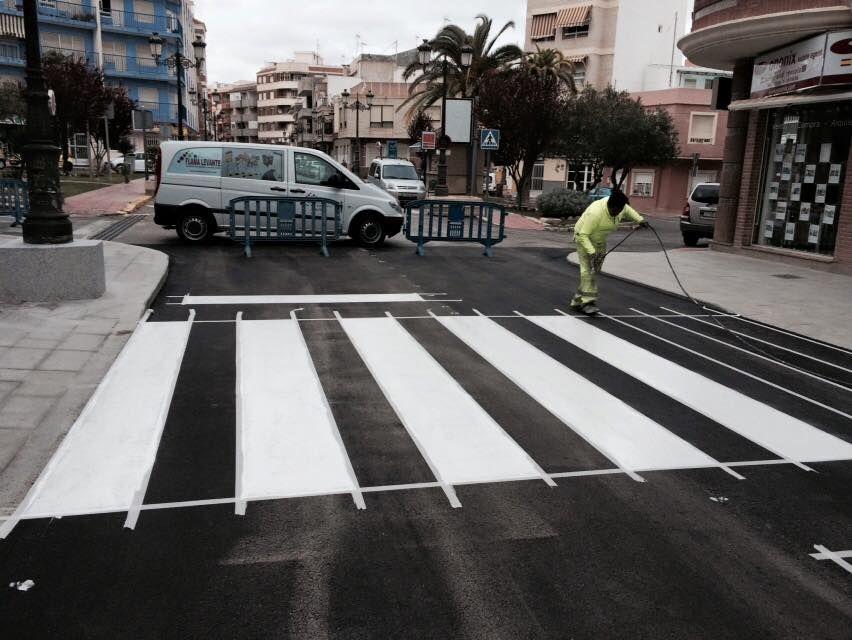 Empresa de señalización en Alicante