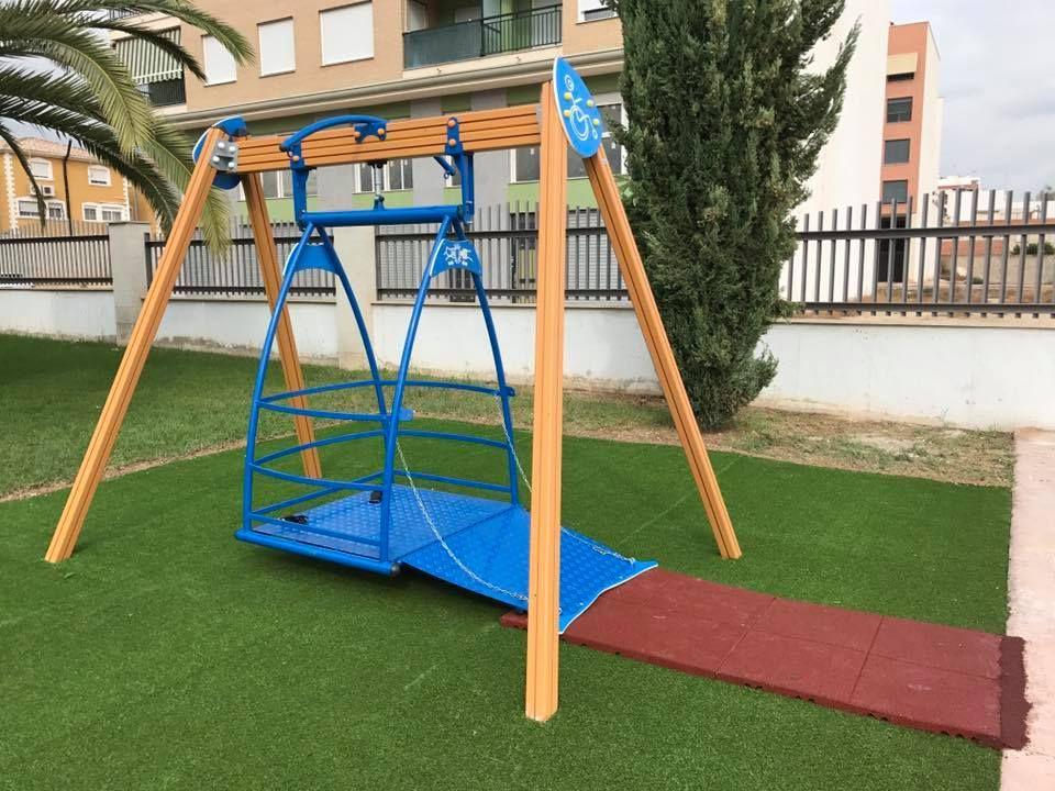 Montaje de parques infantiles en Alicante