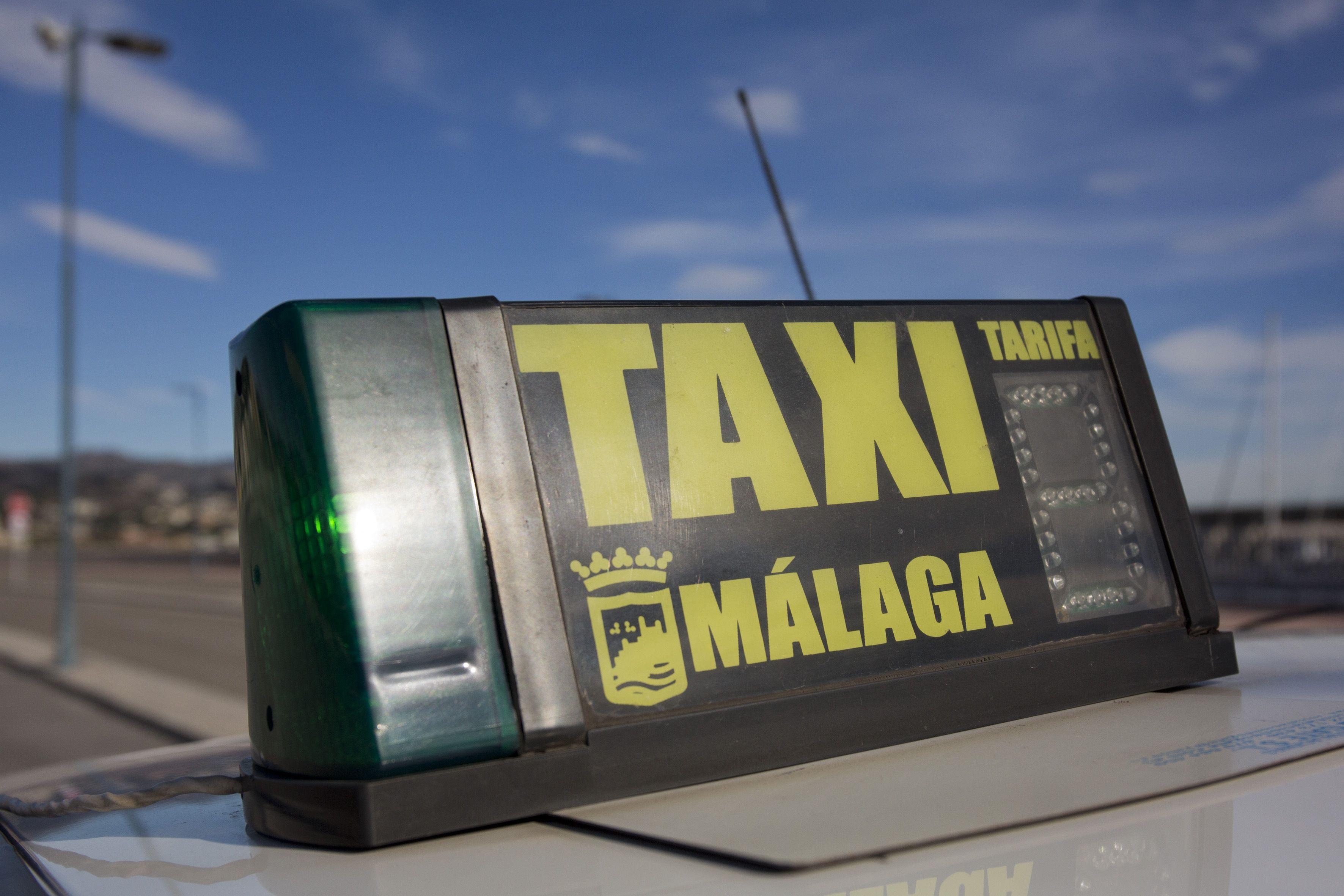 Traslados en taxi  en Málaga