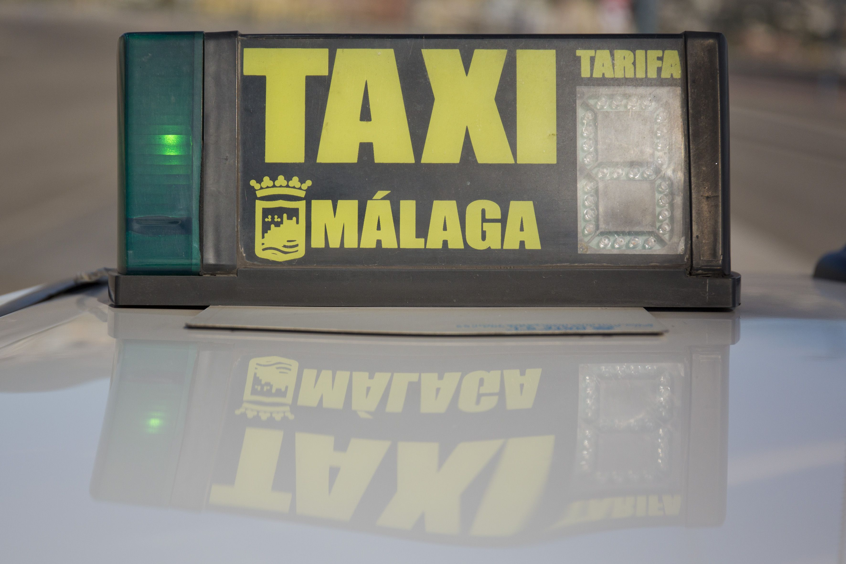 Taxista en Málaga