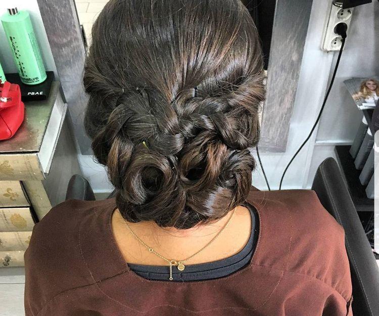 Peluquería especializada en peinados de fiesta en Madrid