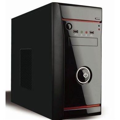 L-link Caja Micro ATX Mirco Negro + Fte.Al.500w: Productos y Servicios de Stylepc