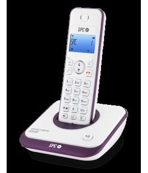 TELEFONO SPC INALAMBRICO DECT 7243T VIOLETA CON MANOS LIBRES: Productos y Servicios de Stylepc