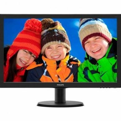 "Philips 243V5LSB Monitor 24"" Led 16:9 5ms VGA DVI : Productos y Servicios de Stylepc"