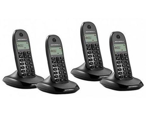 Telefono Inalambrico DECT MOTOROLA C1004 Cuarteto: Productos y Servicios de Stylepc