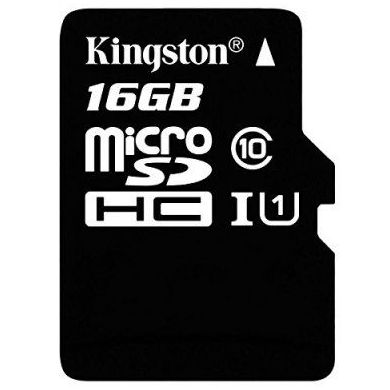 Kingston SDC10G2/16GB micro SD HC clase 10 16GB : Productos y Servicios de Stylepc