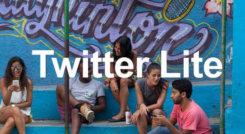 Llega Twitter Lite, la versión móvil que consume pocos datos