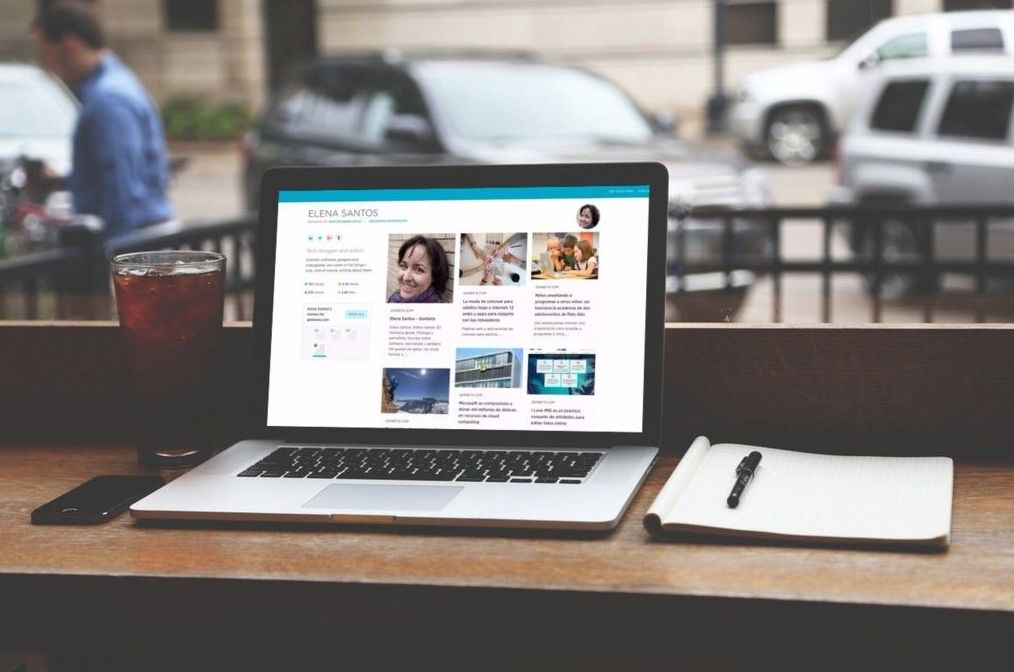 Crea tu perfil personal online