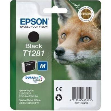 EPSON Cartucho T1281 Negro SX230/SX420/SX430 : Productos y Servicios de Stylepc