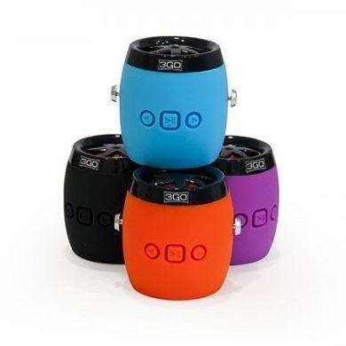 3GO Altavoz 2.1 Bluetooth Dampy 3W Negro : Productos y Servicios de Stylepc