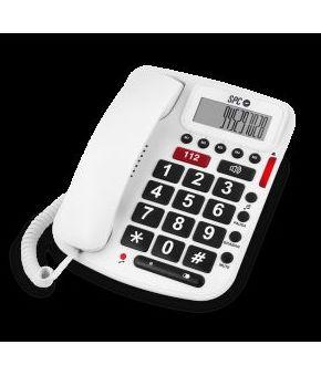 TELEFONO SPC BIPIEZA3293B SOBREMESA BLANCO: Productos y Servicios de Stylepc