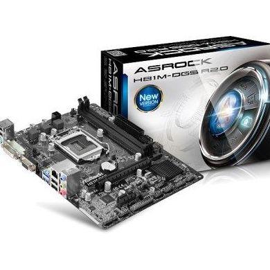 Asrock Placa Base H81M-DGS R2.0 mATX LGA1150 : Productos y Servicios de Stylepc