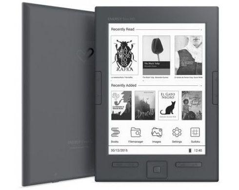 LIBRO ELECTRONICO ENERGY EREADER P6 SLIM HD 8GB: Productos y Servicios de Stylepc