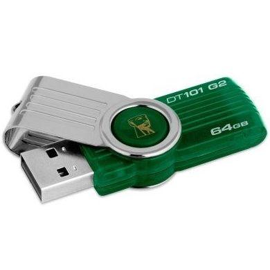 Kingston DataTraveler DT101G2 64GB USB 2.0 verde : Productos y Servicios de Stylepc
