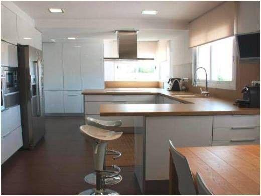Diseño de cocina para vivienda en Aella