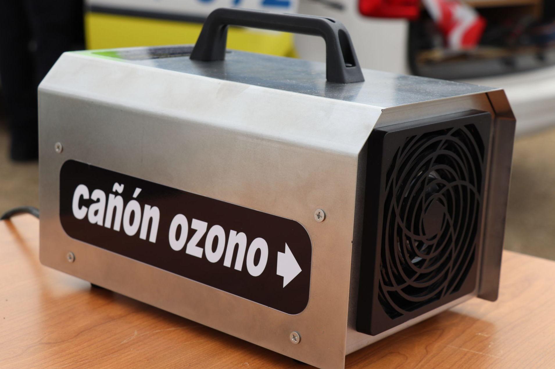Desinfección cañon de ozono Oviedo