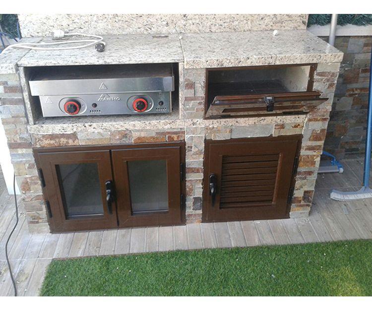Muebles de aluminio para el exterior