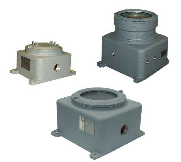 Cajas de aparellaje Ex d Serie CPS y CCA