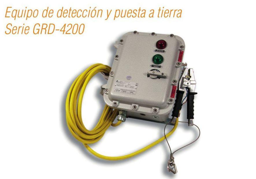 Equipo de detección y puesta a tierra Serie GRD-4200