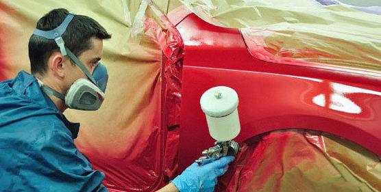 Taller de pintura: Servicios de Rocho Automoción