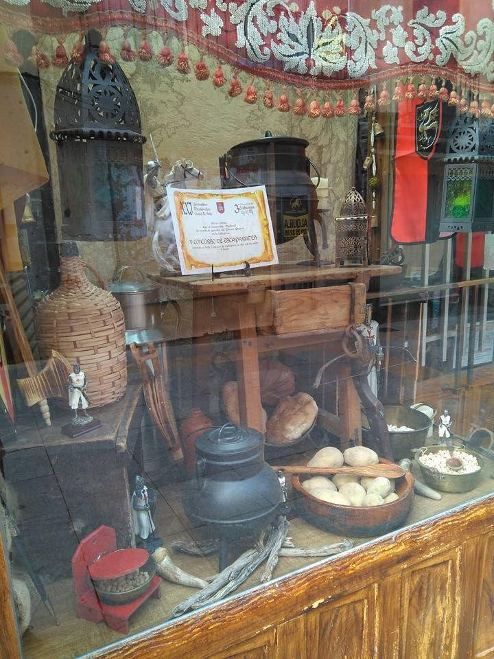 Bazar en Ávila desde 1850