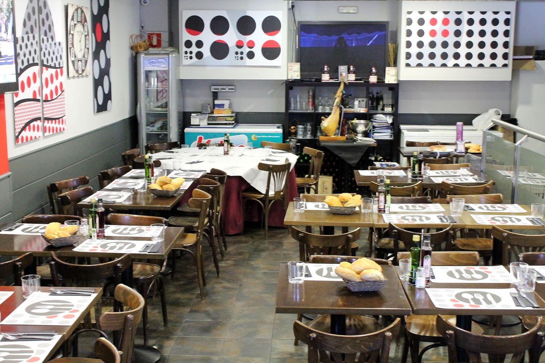 Restaurante con menú del día en Las Tablas, Madrid
