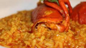 arroz con bogavante, las tablas, Madrid, menú sábado, menú del dia, menú económico, menú Telecinco, especialidad de la casa