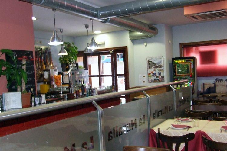 Interior de nuestro restaurante en Madrid