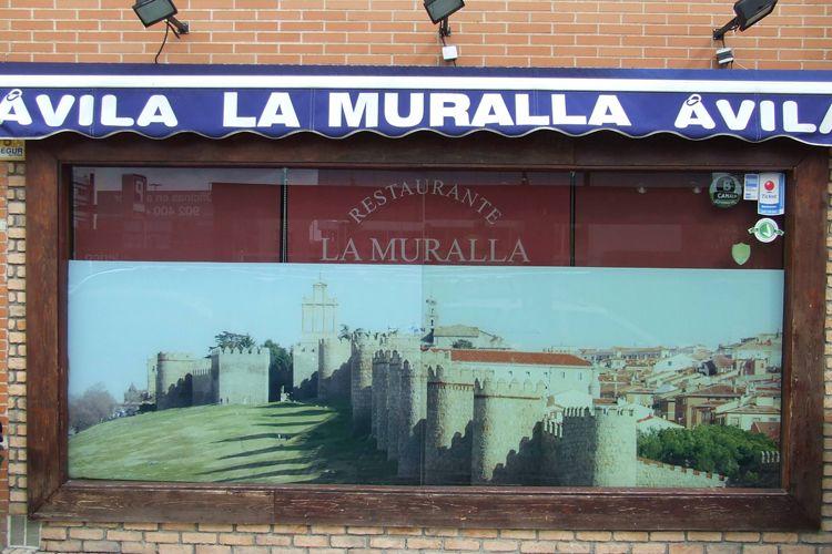 Fachada de nuestro restaurante en Madrid