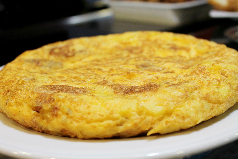 Tortilla de patata en Las Tablas, Madrid