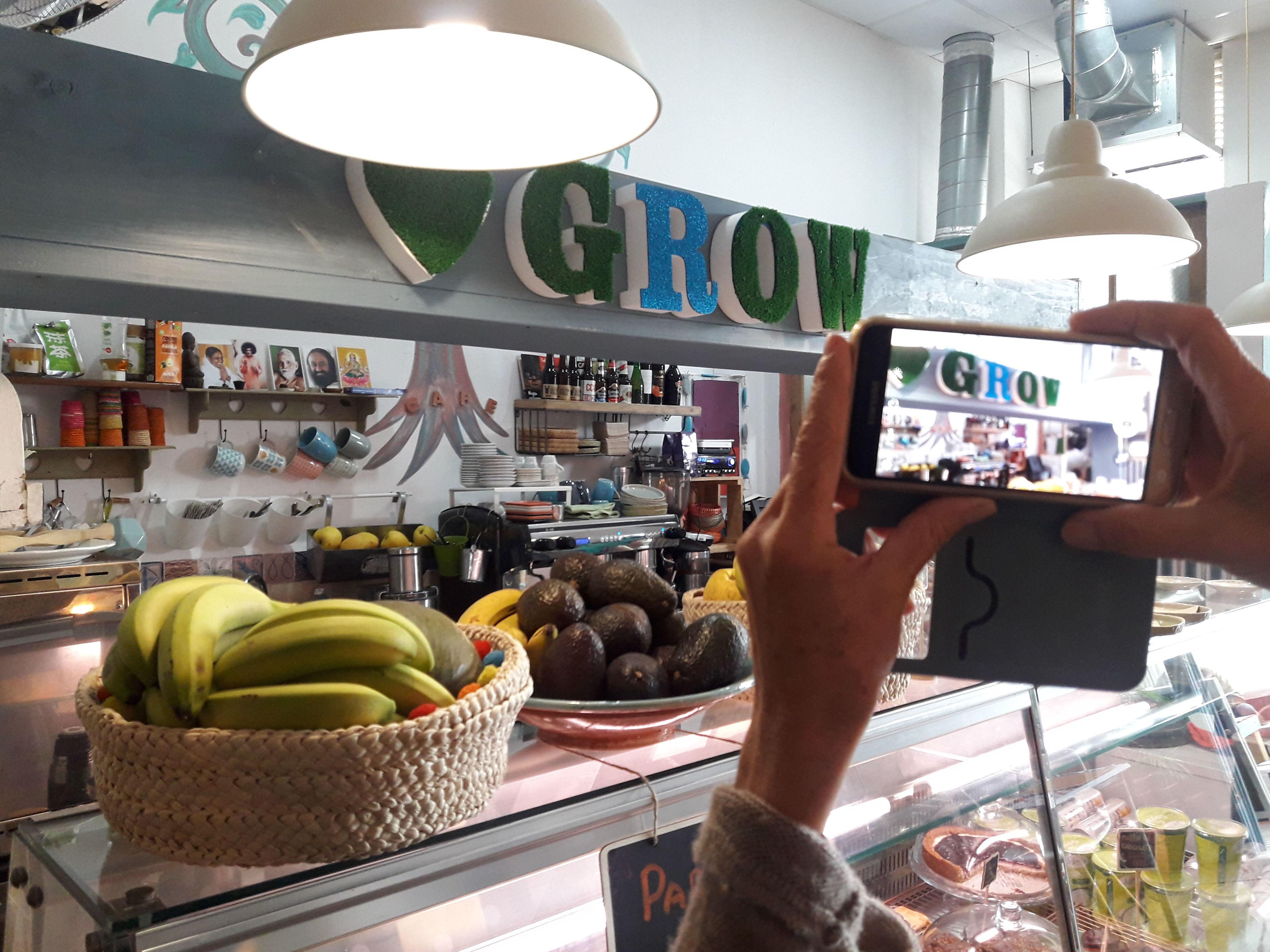 Foto 1 de Restaurante vegetariano en  | Grow Café