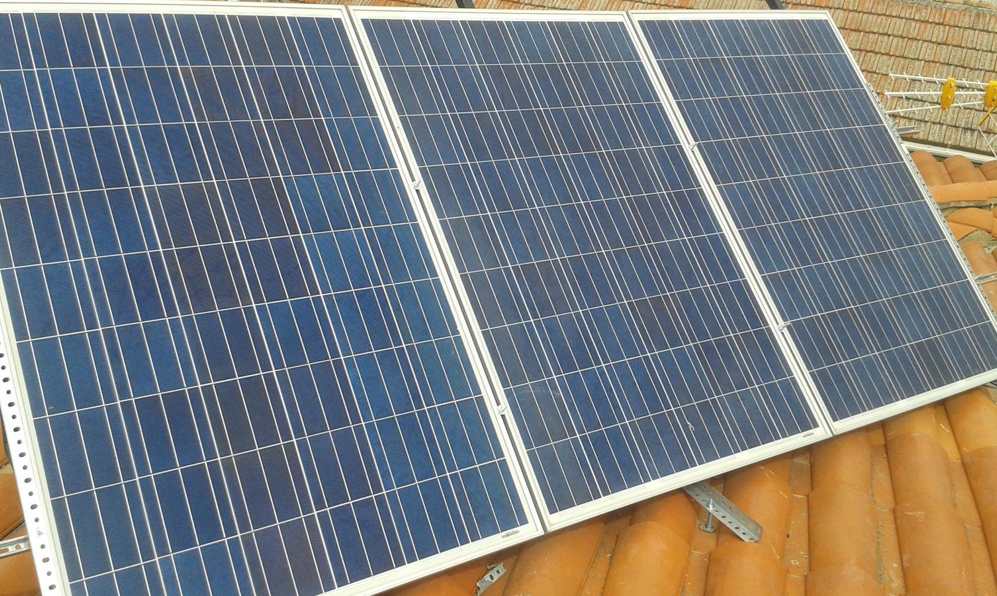 Venta de placas solares según la necesidad del cliente