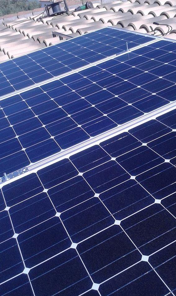 Venta e instalación de placas solares en Granada