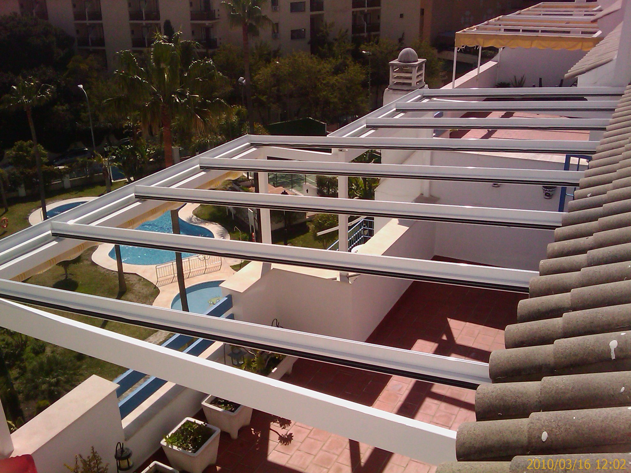 Foto 21 de Carpintería de aluminio, metálica y PVC en Málaga | Aluminios Alunoe