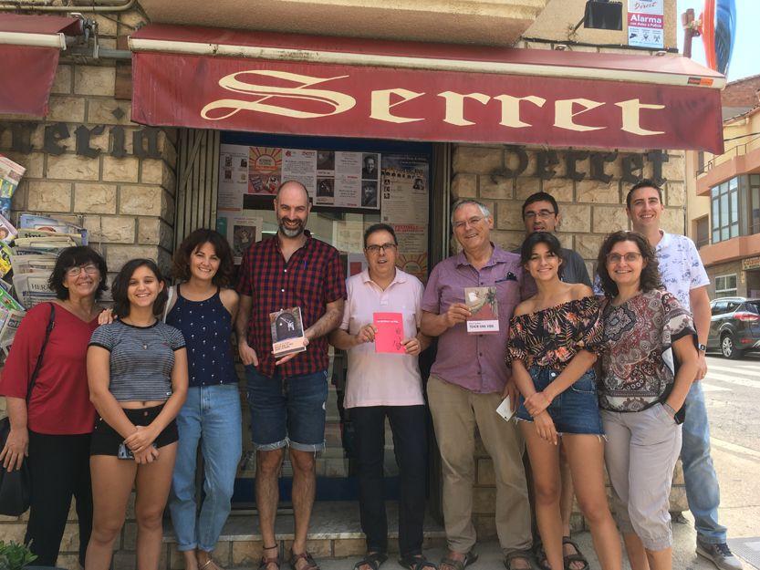 Librería Serret en Valderrobres, Teruel