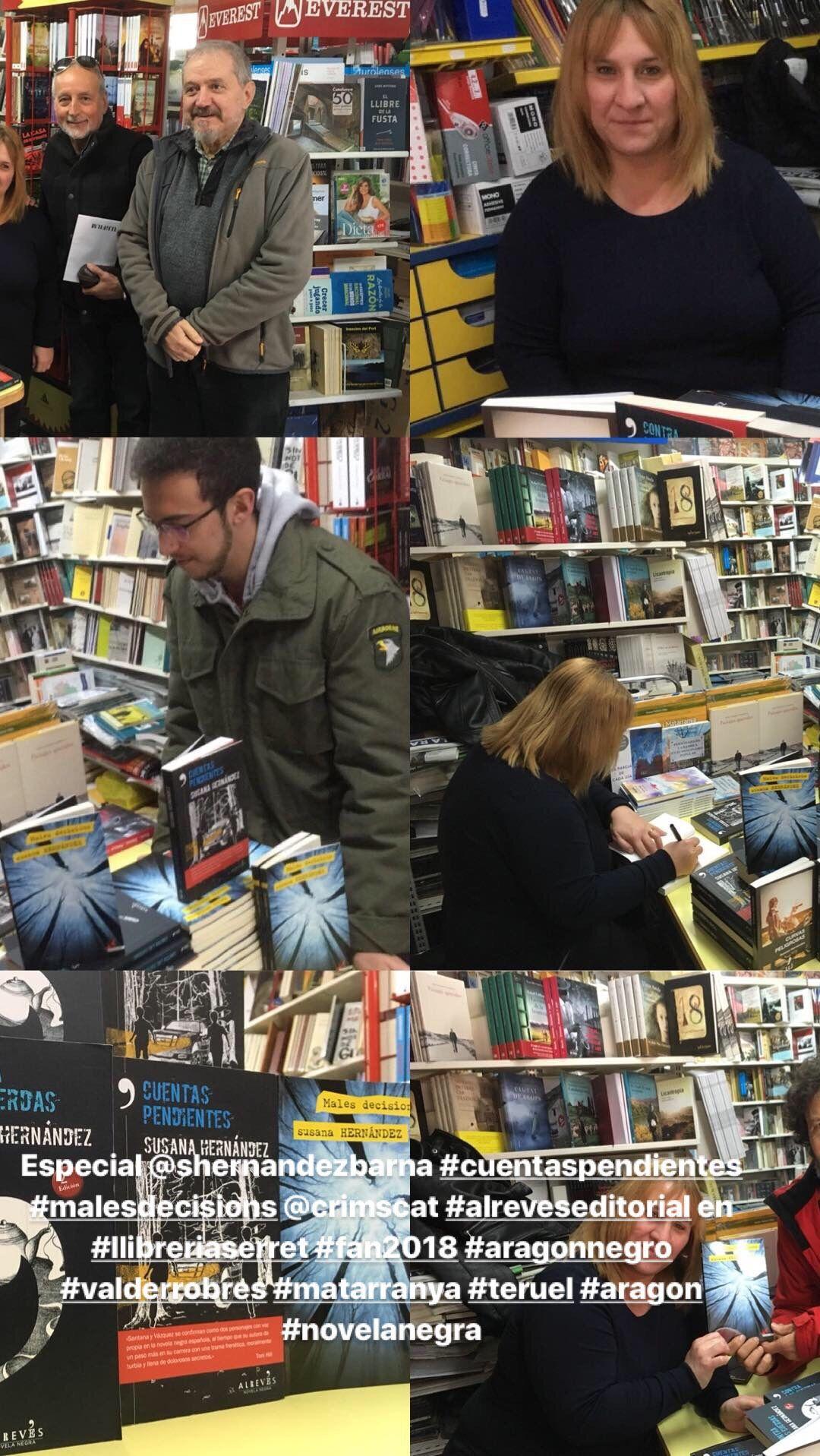 Presentación de libros en Teruel