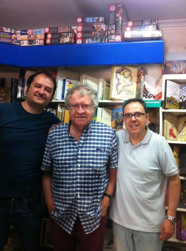 Libreria serret en Teruel, firma de libros