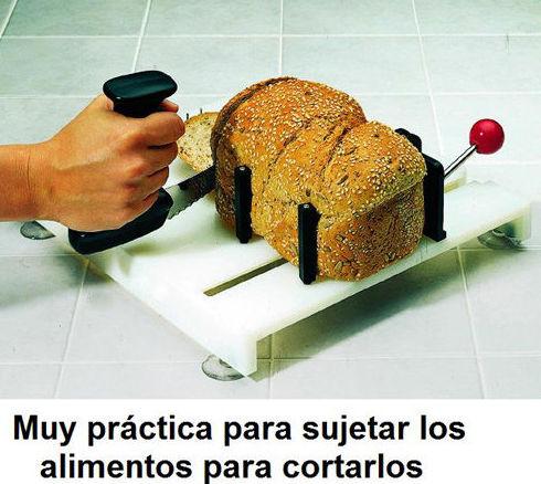 Sistema de preparación de alimentos con una mano