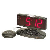 Relej despertador con números grandes y vibrador para sordos