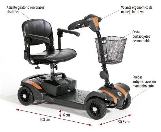 """Scooter desmontable y portátil """"Veo"""""""