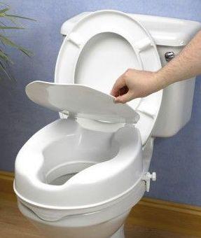 Elevador de WC con tapa Asturias
