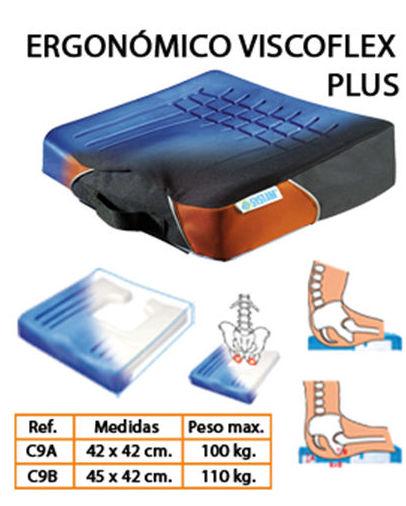 "Cojín ergonómico antiescaras ""Viscoflex Plus"""