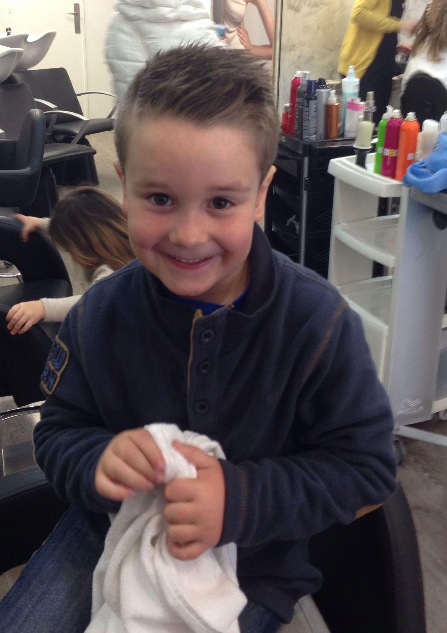Despues... Corte de pelo niños en Santader