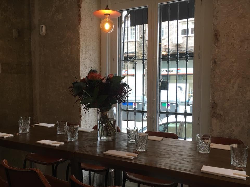 Restaurante con encanto Chamberí