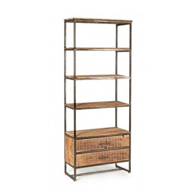 Librería tipo industrial BZZ 0746310 / BZZ 0746309: Catálogo de Ste Odile Decoración