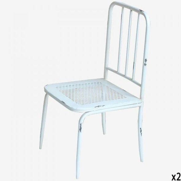 Sillita blanca barrotes QQ-1402042: Catálogo de Ste Odile Decoración