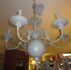 Restauración: Lámpara latón restaurada y patinada en grises: Catálogo de Ste Odile Decoración